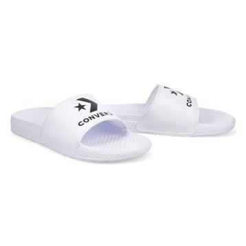 Women's All Star Slide Sandal - White/White