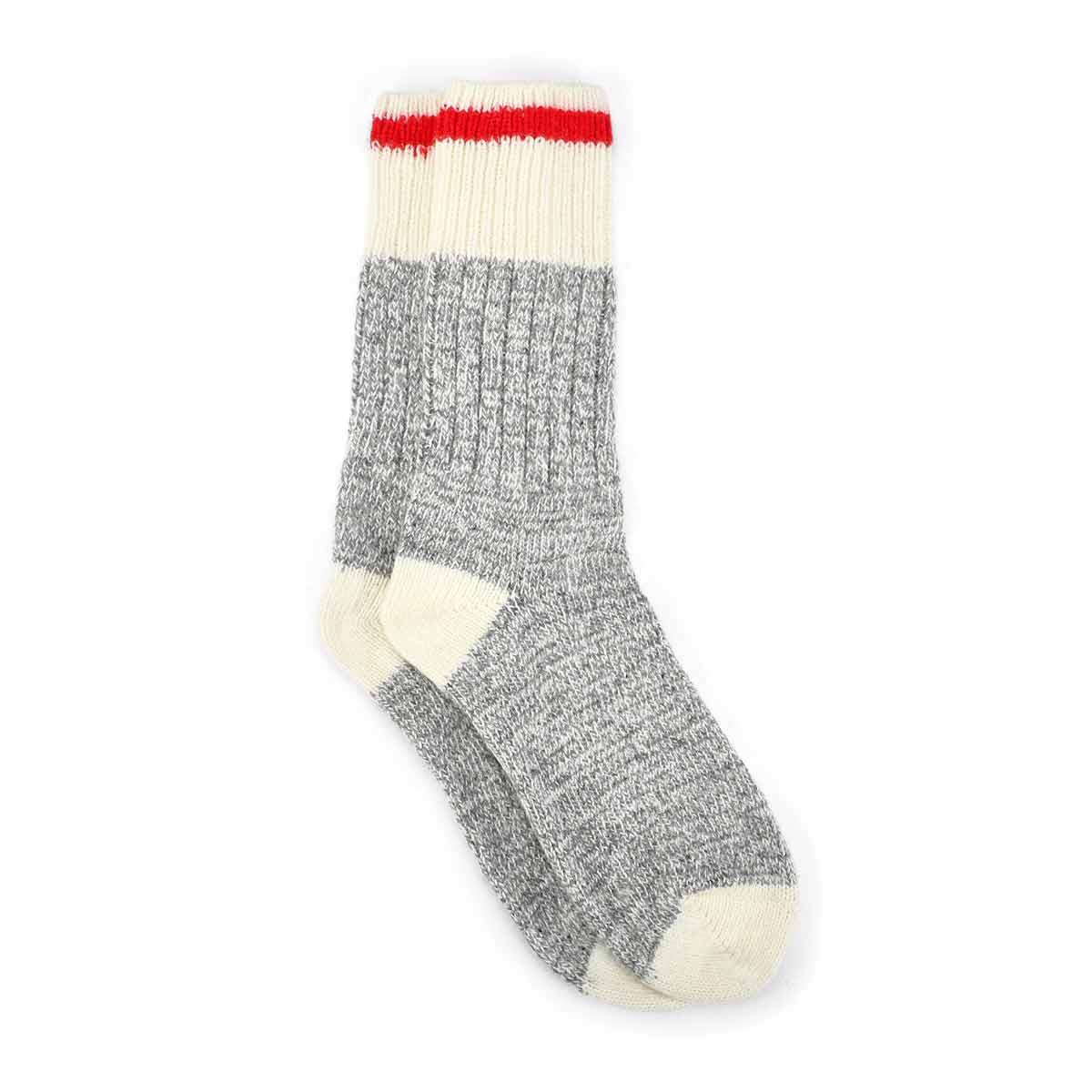 Women's Duray Wool Blend Sock - Grey/White