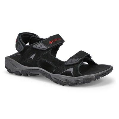 Mns Santiam 3 Strap blk/red sport sandal