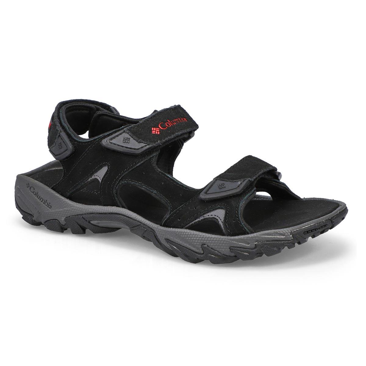Men's Santiam Sport Sandal - Black/Red