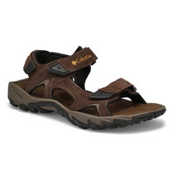 Mns Santiam 3 Strap brn/banana sandal