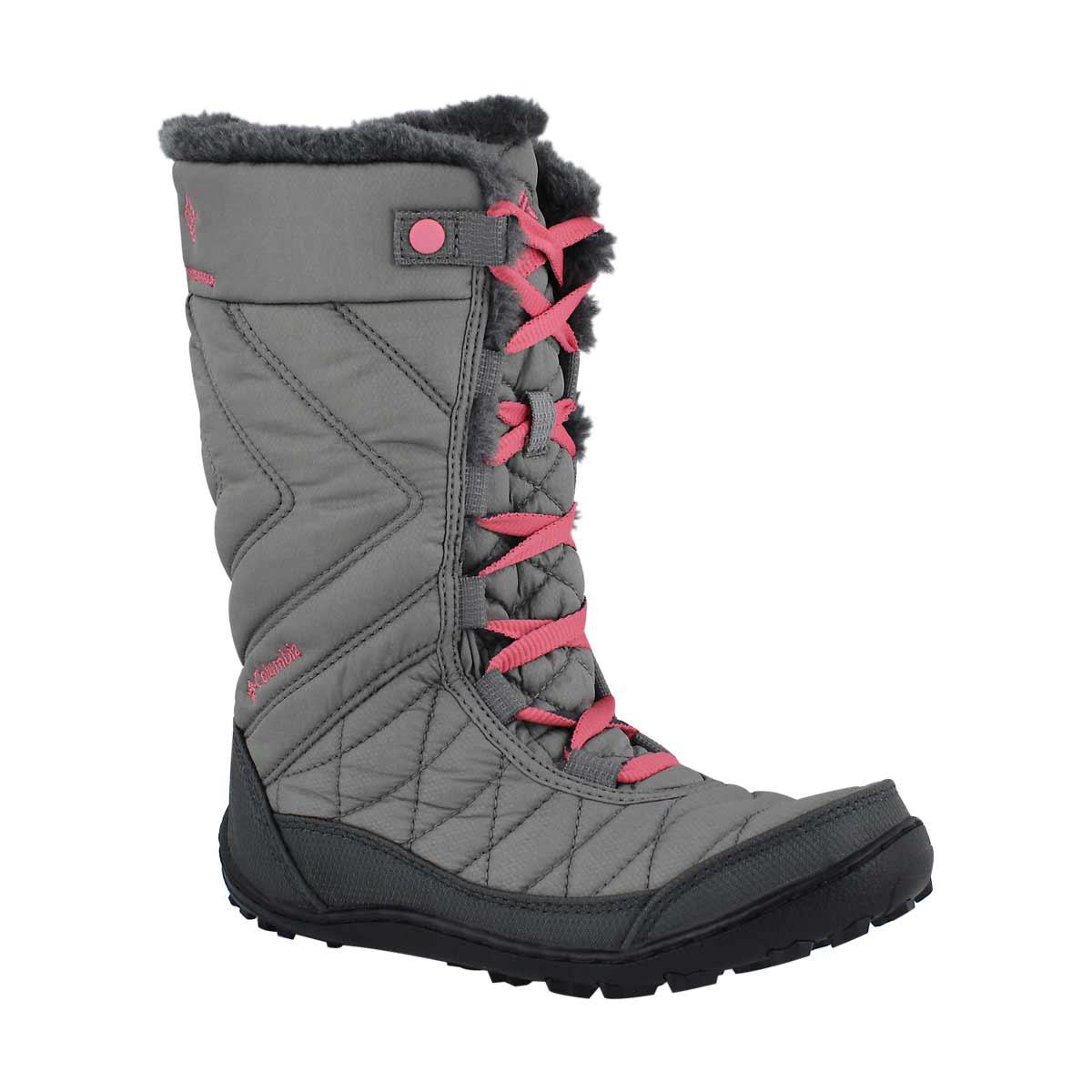 Girls' MINX MID III grey/pink winter boot