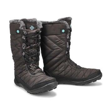 Girls' MINX MID III black winter boot