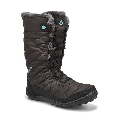 Grls Minx Mid III black wtpf wntr boot