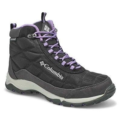 Lds Firecamp Wtpf Ankle Boot - Black