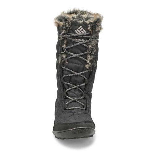 Lds Minx Mid III black wp tall wntr boot
