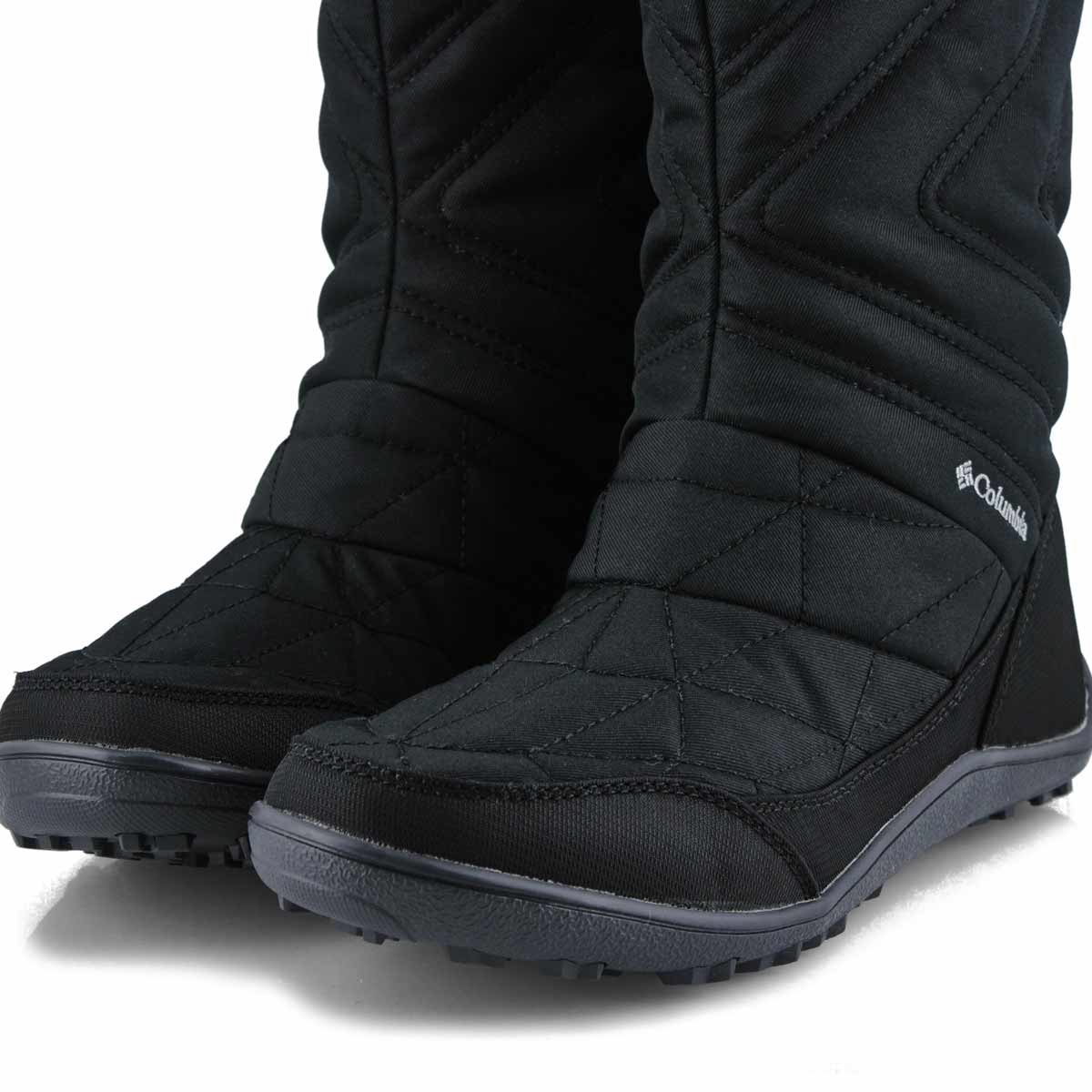 Lds Minx Slip III blk slipon wp boot