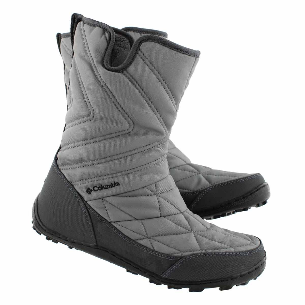 Lds Minx Slip III steel slipon wp boot