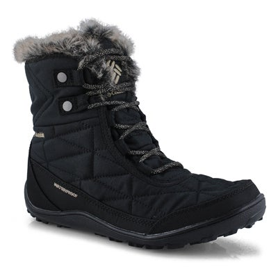 Women's MINX SHORTY III  blk wtrpf winter boots