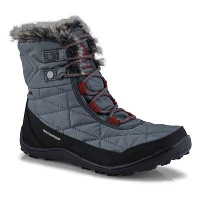 Lds Minx Shorty III grpht wtpf wntr boot