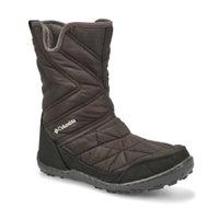 Girls' MINX SLIP III black waterproof winter boot