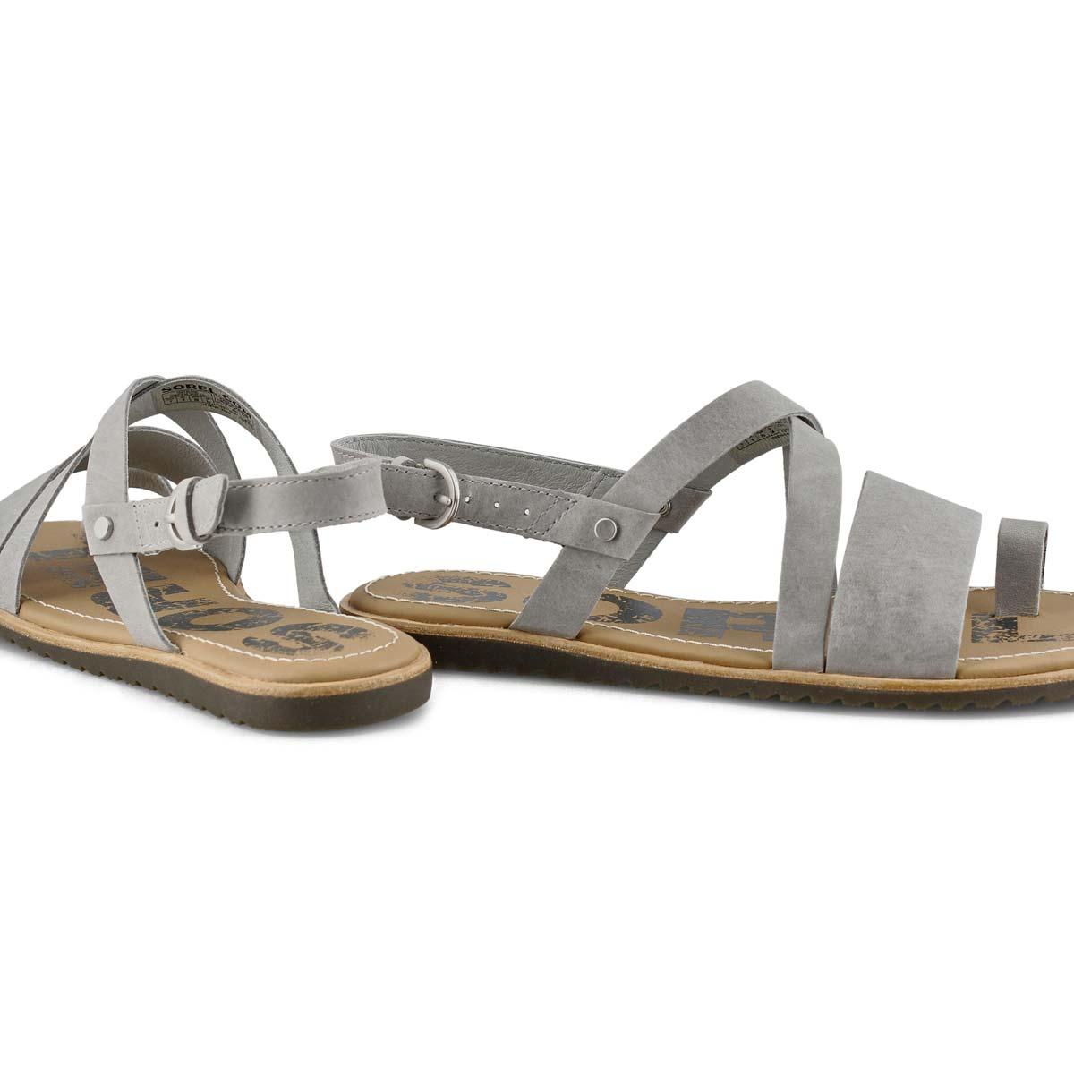 Women's Ella Criss Cross  Sandal - Dove