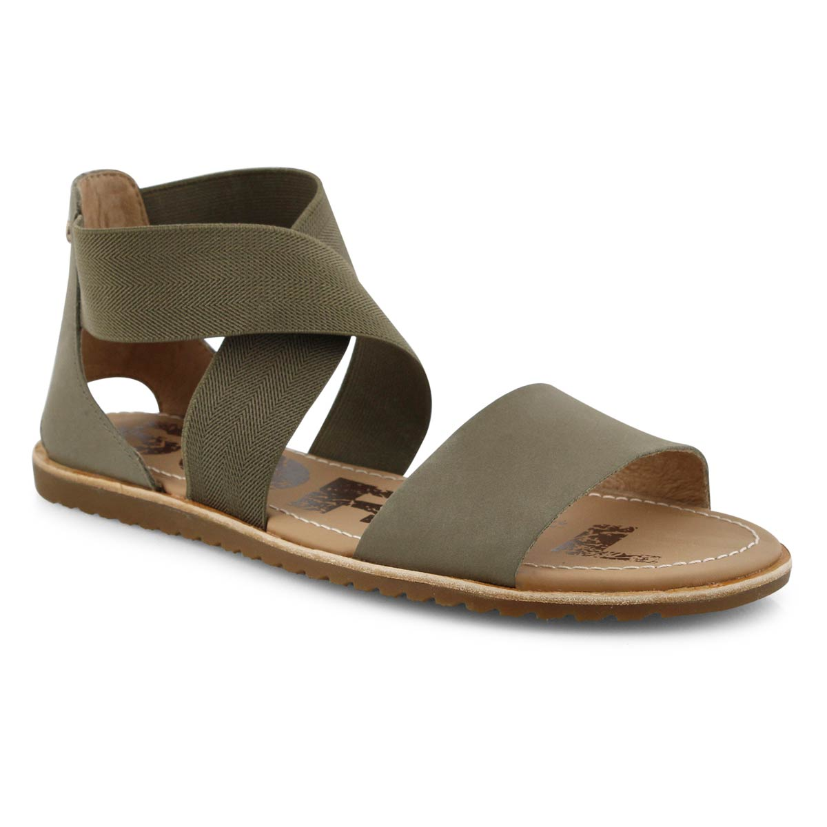 Sandales décontractées ELLA, sauge, femmes