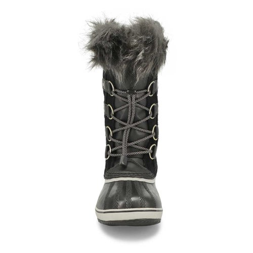 Grls Joan Of Arctic blk wp snow boot