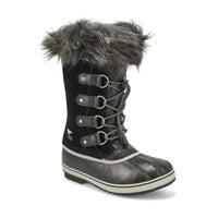 Girls Joan Of Arctic Waterproof Snow Boot - Black