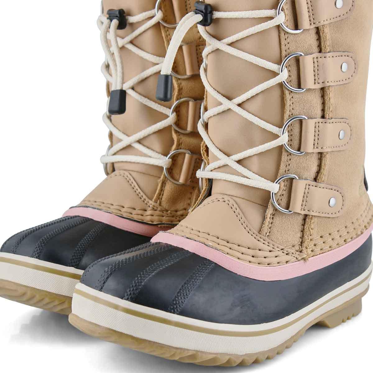Girls' Joan Of Arctic Waterproof Snow Boot - Beige