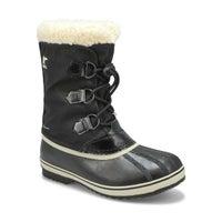Kids' Yoot Pac Waterproof Snow Boot - Black