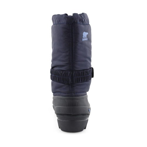 Bys Flurry nvy/atmos pull on winter boot