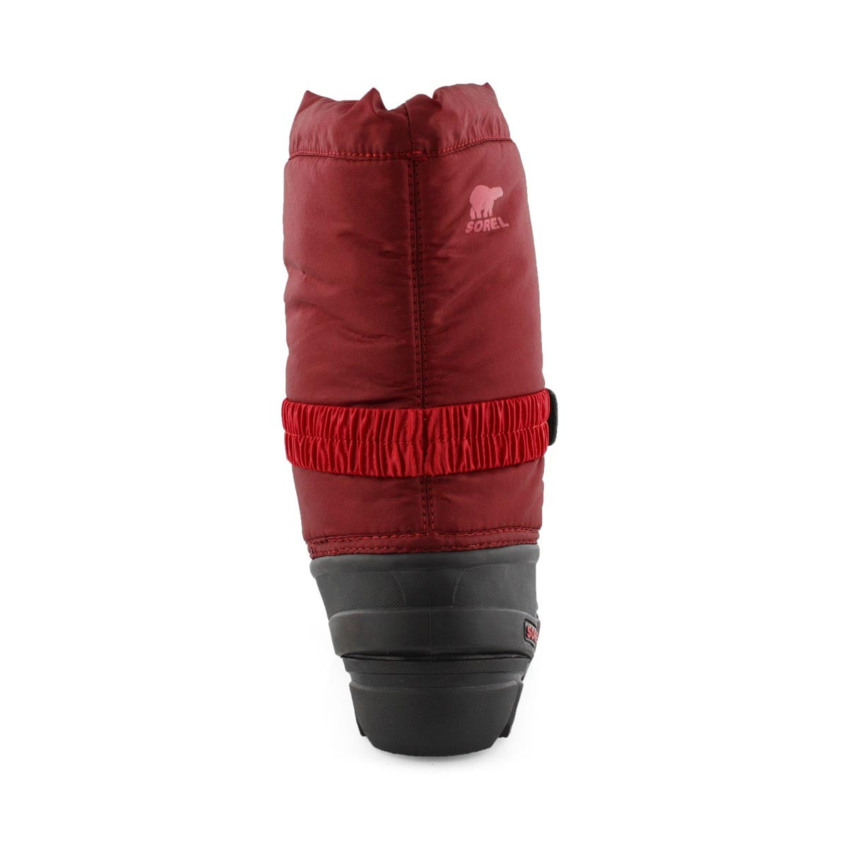 Grls Flurry red pull on winter boot