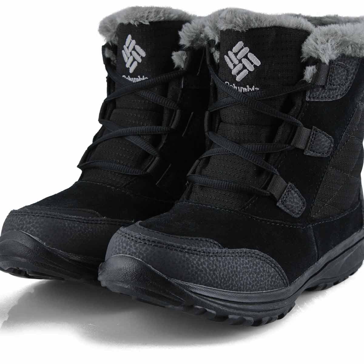 Bottes d'hiver ICE MAIDEN SHORTY noire, femmes