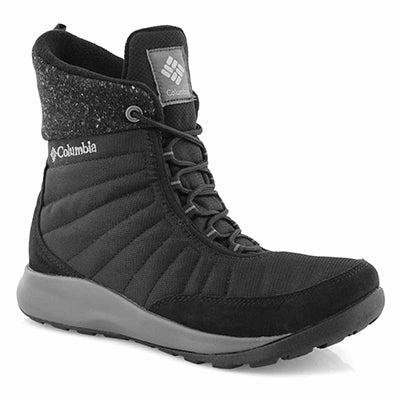 Women's NIKISKI blk waterproof winter boots