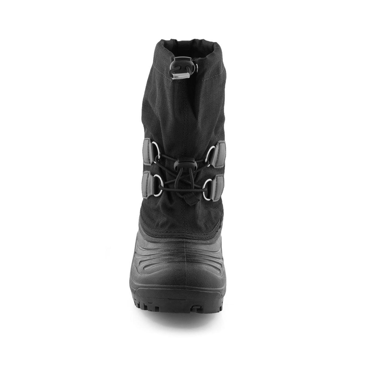 Kids' SUPER TROOPER  black/grey snow boots