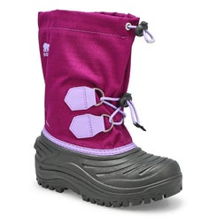Grls Super Trooper purple snow boot