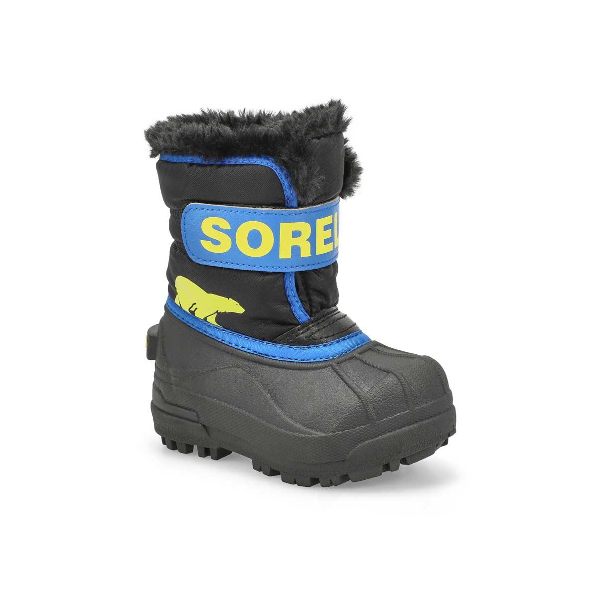 Infants' Snow Commander Boot - Black/Blue