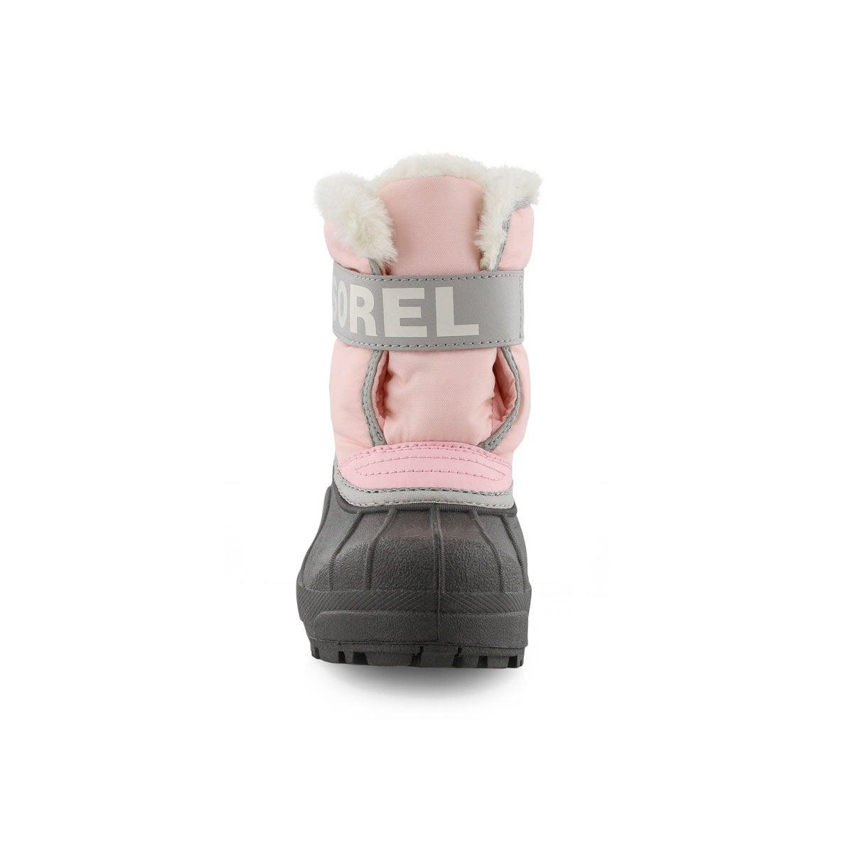 Bottes SNOW COMMANDER,rose/gris per,petites filles