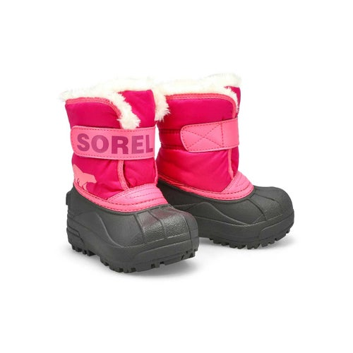 Infs-g Snow Commander pnk/blush boot