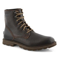 Men's MADSON 6  tobacco/mud wtp ankle boots