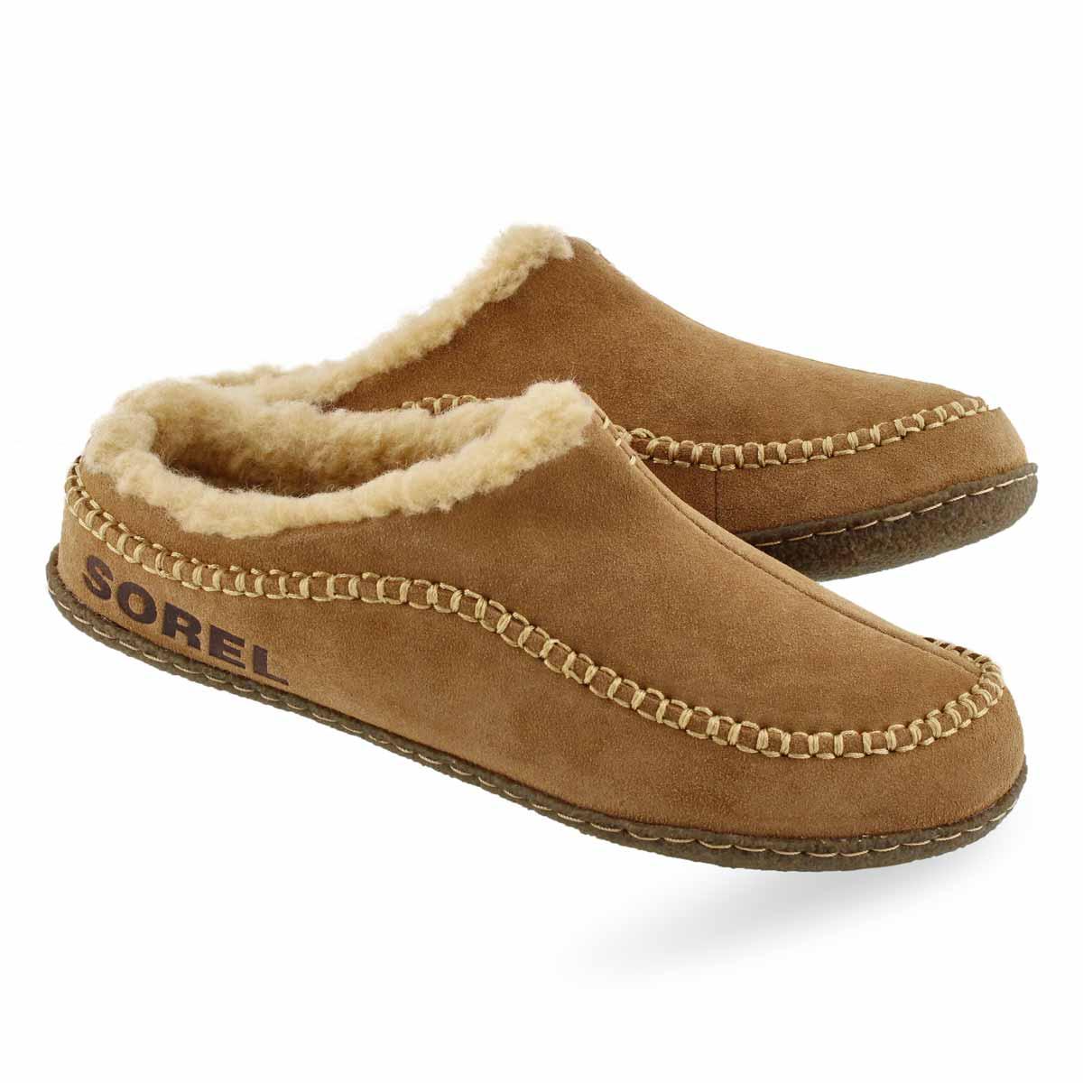 Men's Falcon Ridge II Slipper - Camel/Brown/Curry