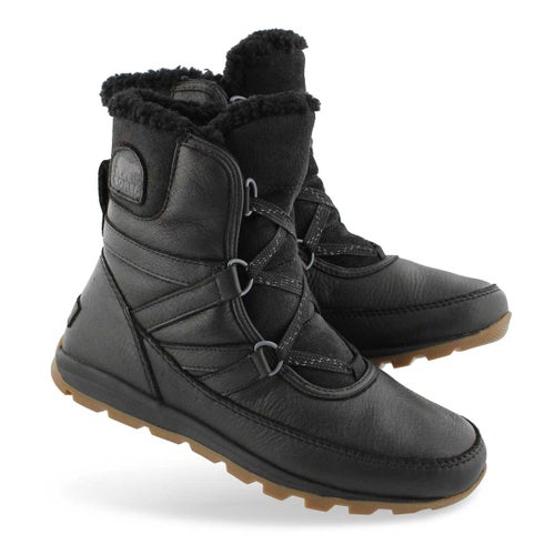 Lds WhitneyShortLacePremium blk wtp boot