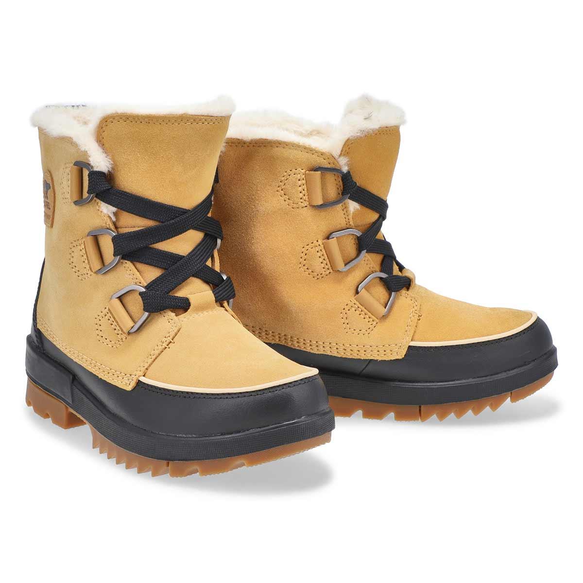 Women's Tivoli IV Waterproof Boot - Curry/Black