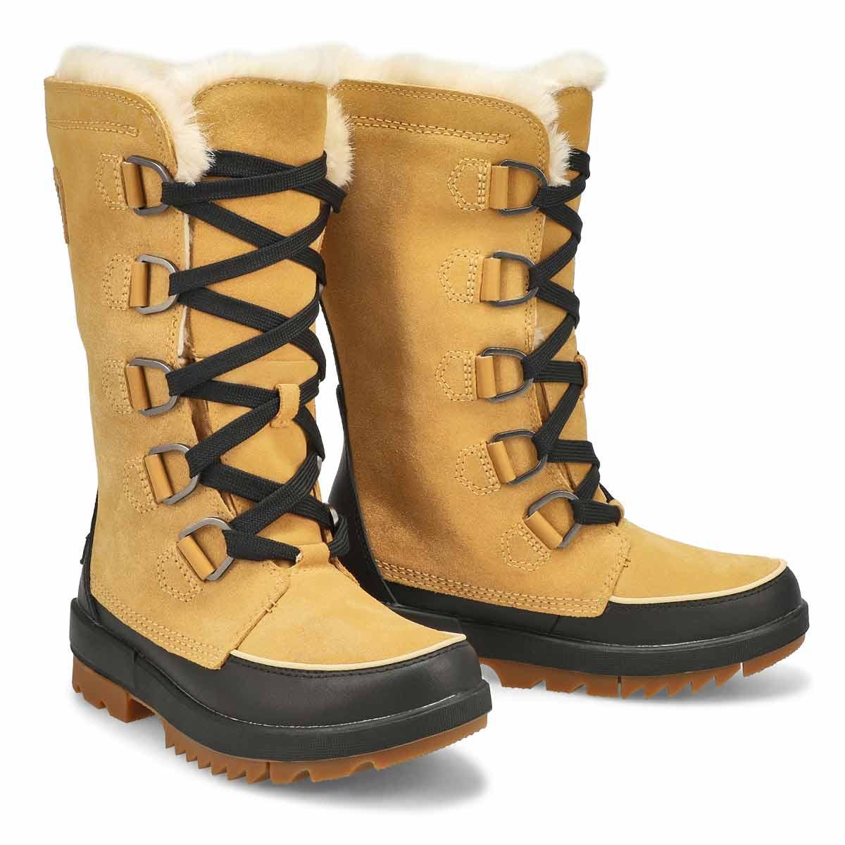 Women's Tivoli IV Tall Waterproof Boot - Curry/Blk