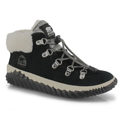 Grls Out N About Conquest blk ankle boot