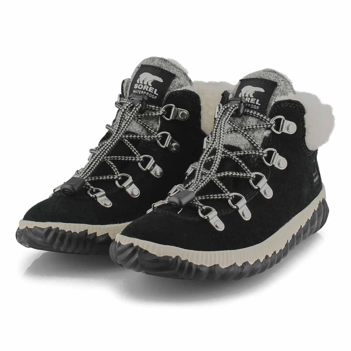 Girls' Out N' About Conquest Boot - Black