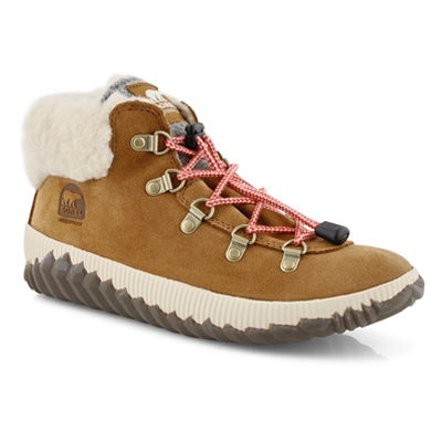 Grls Out N About Conquest brn ankle boot