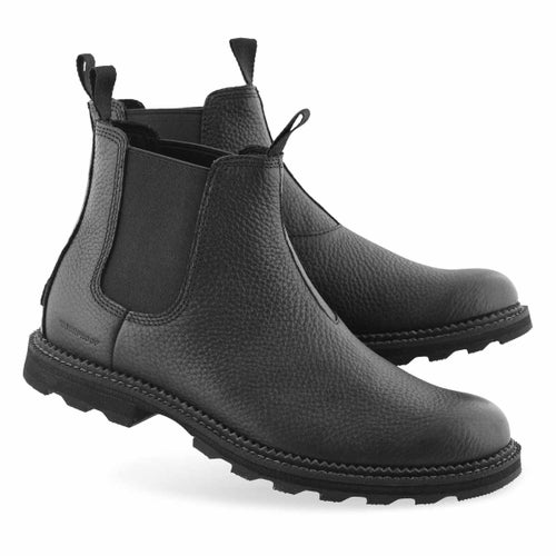 Mns Madson black wtpf chelsea boot