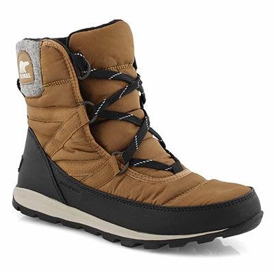 Women's WHITNEY SHORT LACE waterproof boots