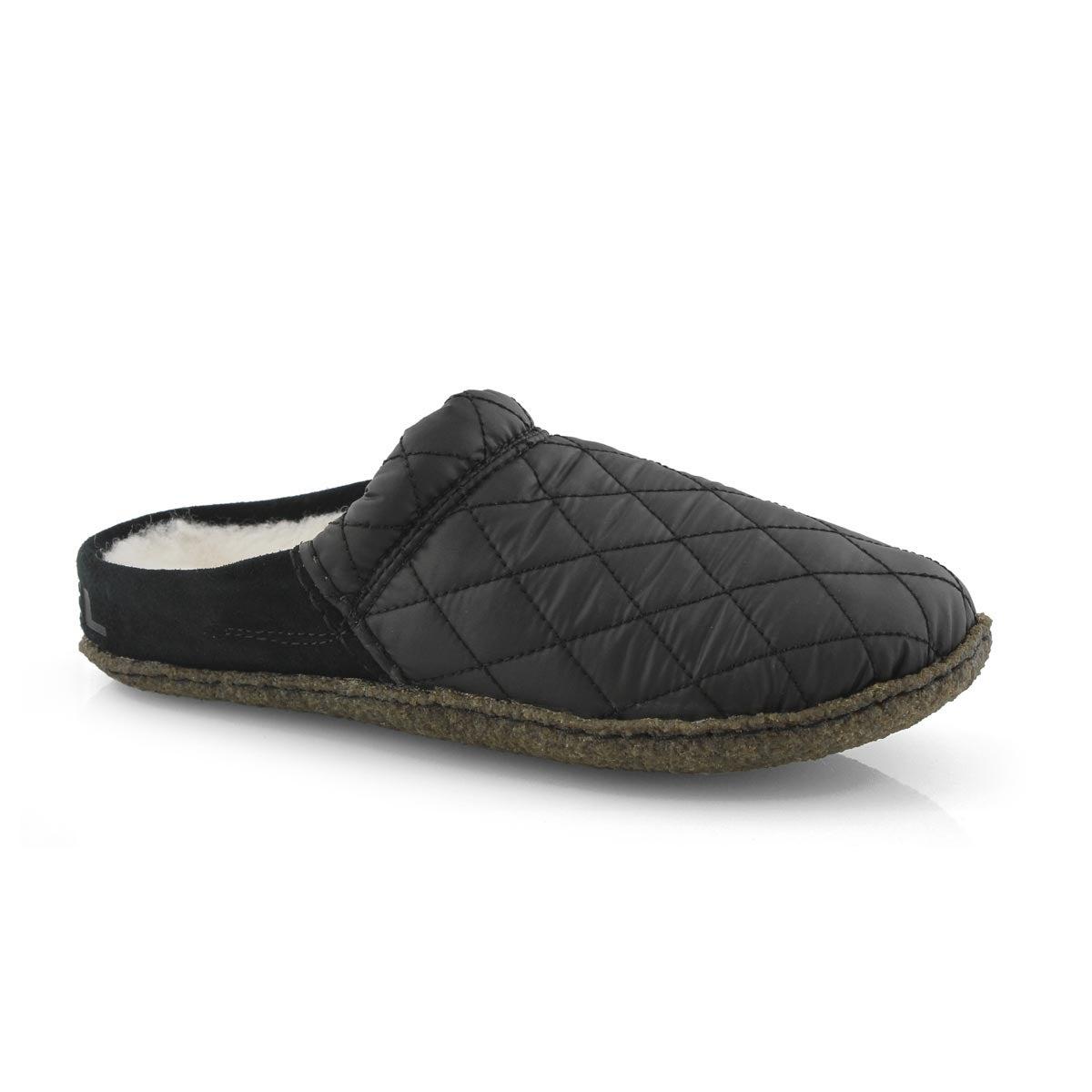 Women's NAKISKA SCUFF black slippers