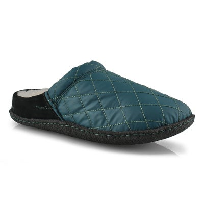 Lds Nakiska Scuff dark seas slipper