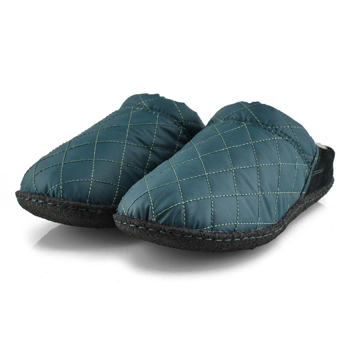 Pantoufles NAKISKASCUFF, bleu profond, femmes