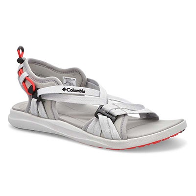 Women's Columbia Sport  Sandal - Grey/Red