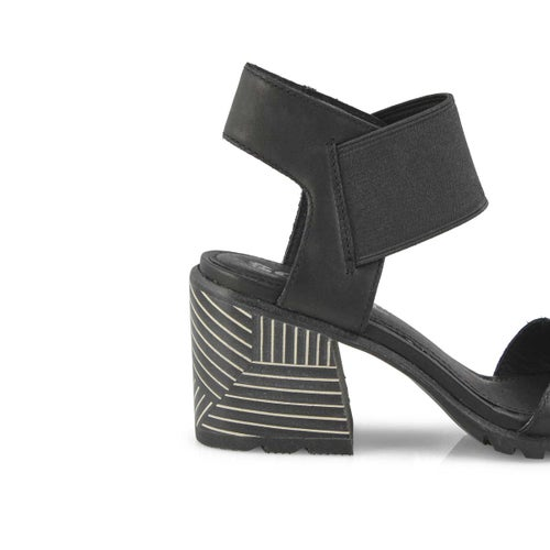 Lds Nadia black dress sandal