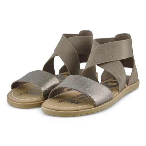 Sandale, Ella, brun,femmes