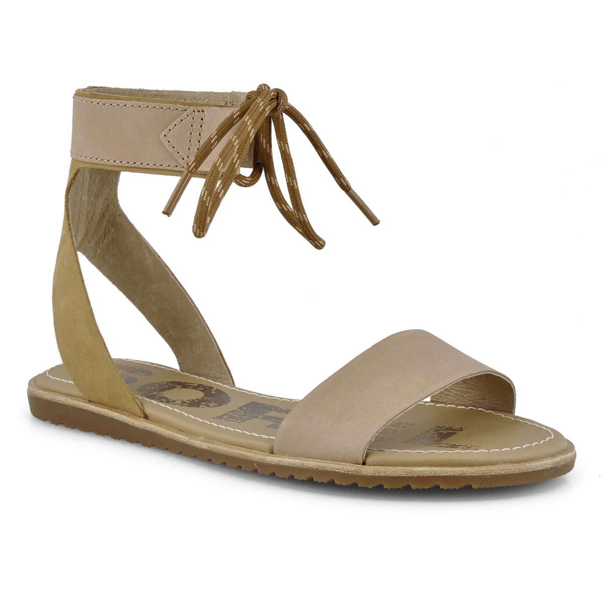 Sandale, Ella Ankle, beige, femmes