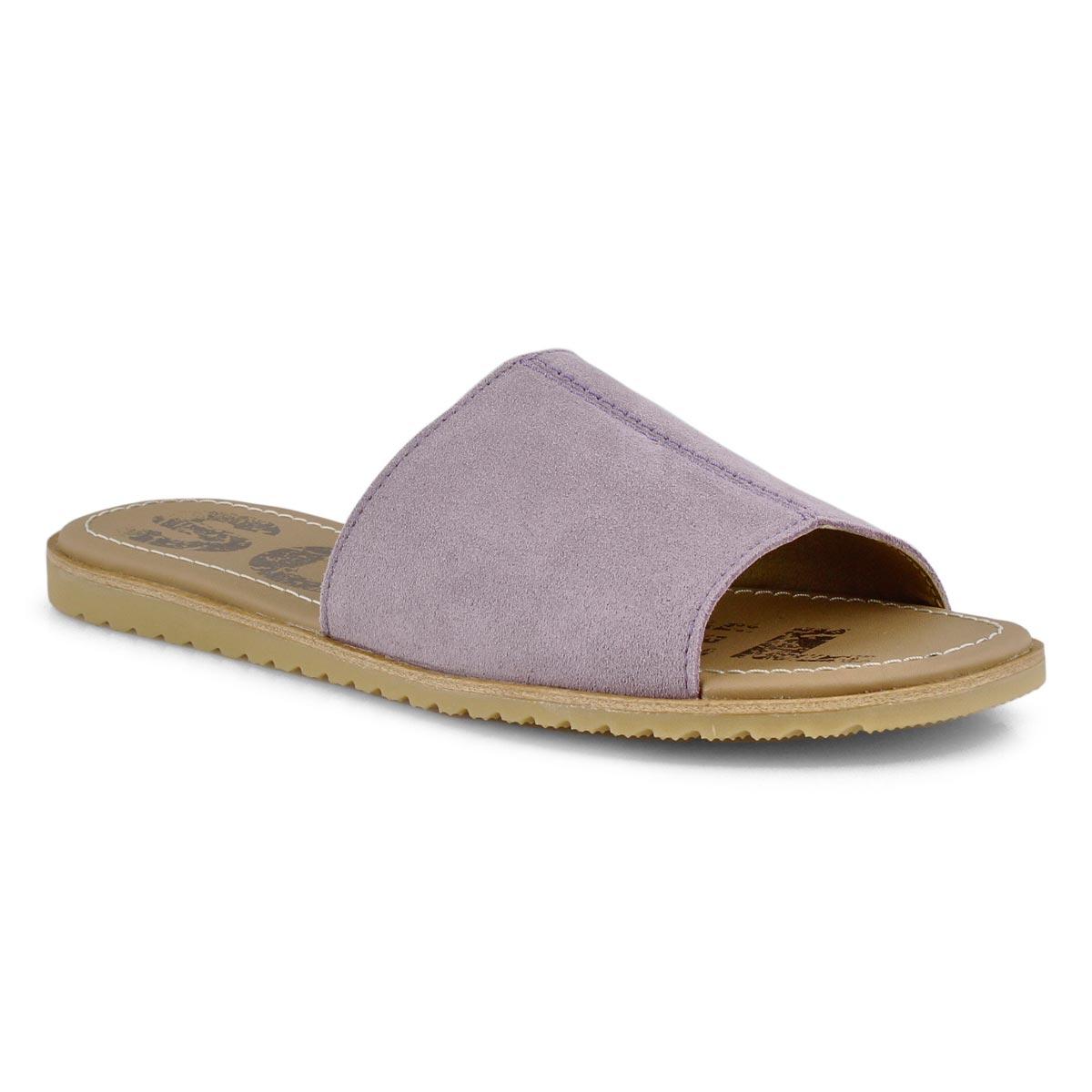 Sandale, Elle Block, mauve, femmes