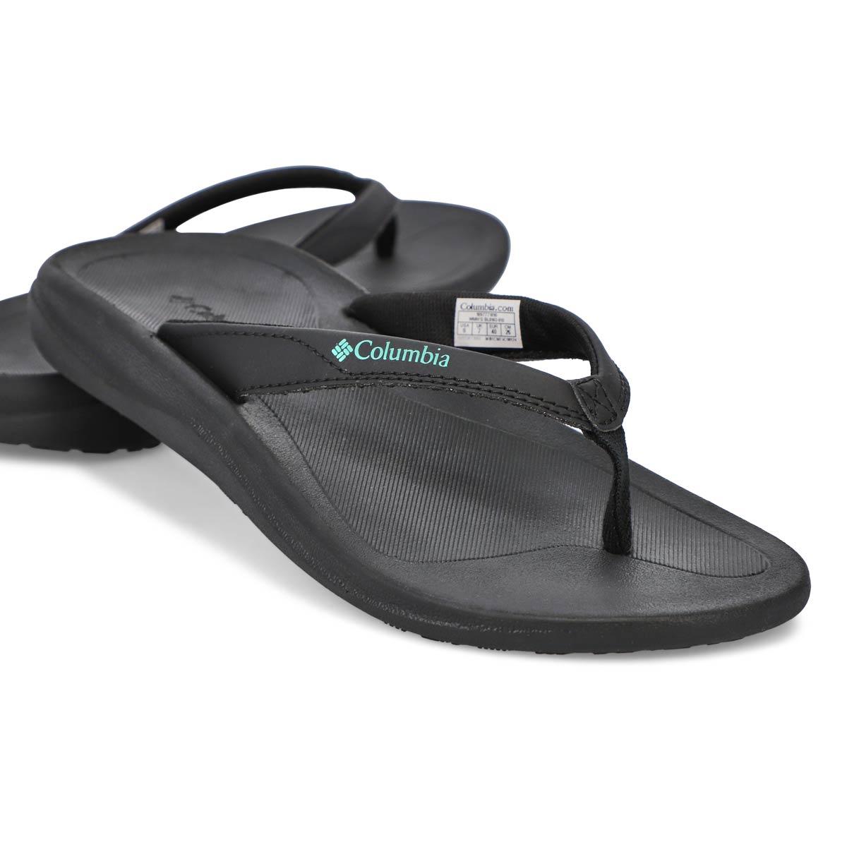 Womens' Columbia Flip Sandal - Black/Copper
