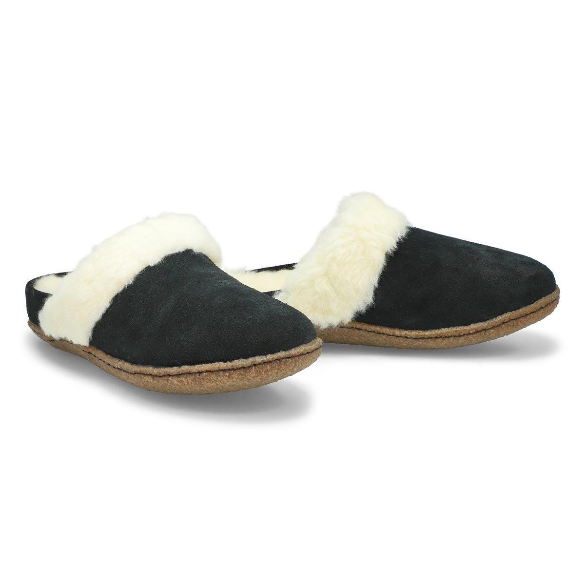 Pantoufles NAKISKA SLIDE II noires, femmes